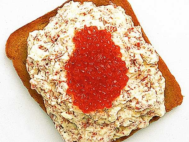 Toast sikafors med forellrom