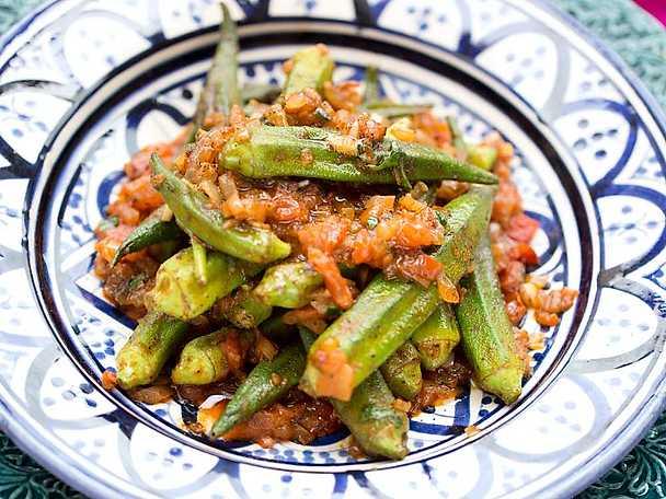 Tomat och okratagine, Markiz recept