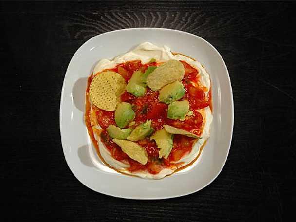 Tomatsalsa med nachoschips