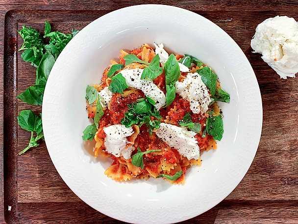 Tomatsås på 10 minuter