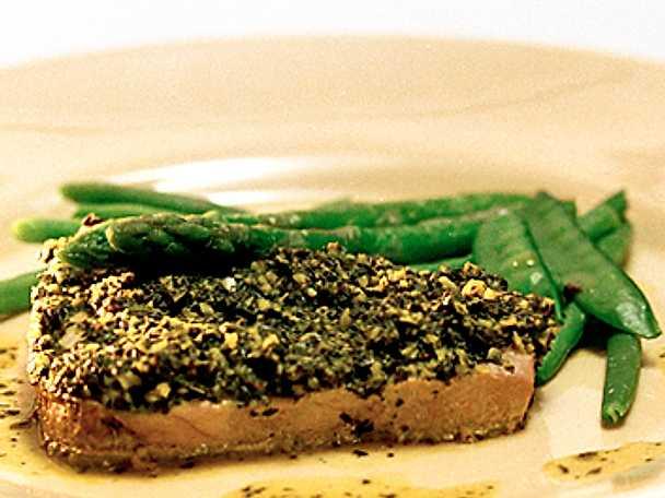 Tonfisk i lime- och ingefärssås