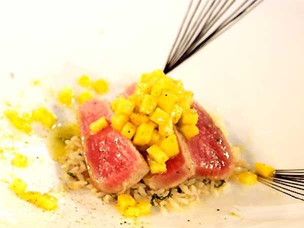 Tonfisk med mangosalsa