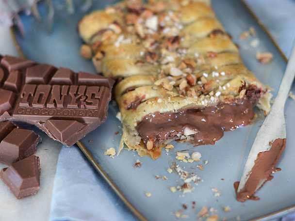 tonys inbakade chokladkaka