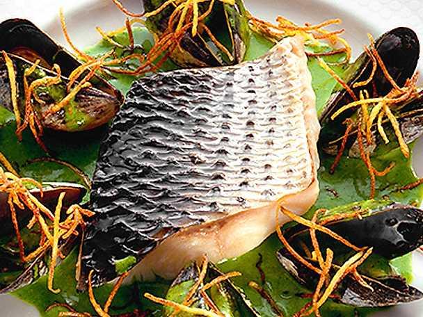 Torsk med musslor