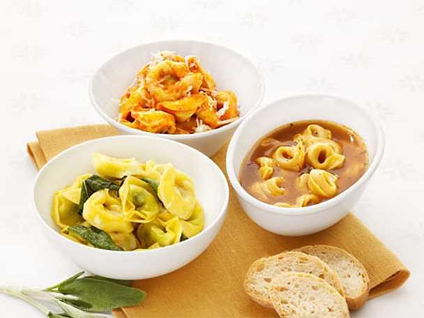 Tortellini Burro e Salvia - Tortellini med smör och salvia