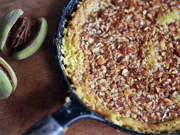 Toscakaka med mandel och honung