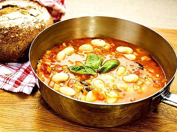 Toskansk soppa på smörbönor