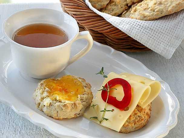 Traditionella engelska scones