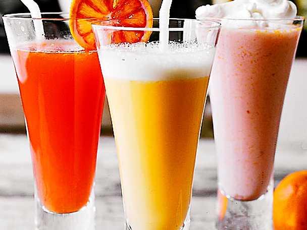 Tre apelsindrinkar