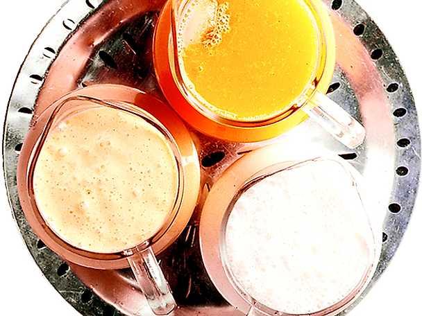 Tre klassiska indiska drinkar