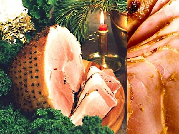 Tre recept på julskinka