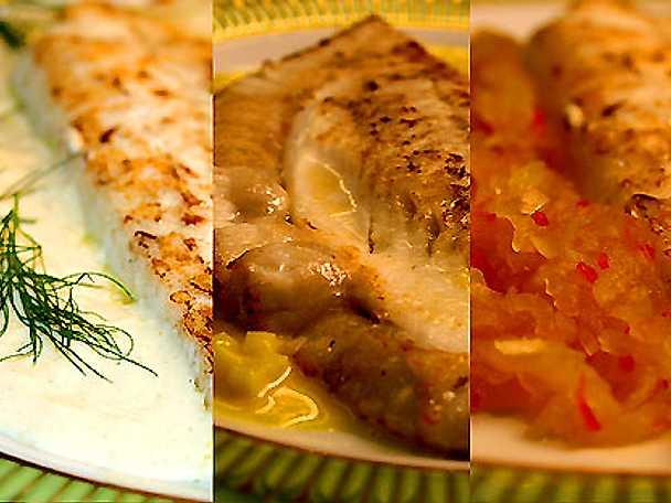 Tre varianter till fisk