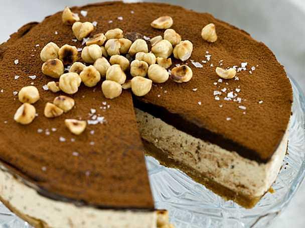 Tryffelcheesecake med kaffe och citron