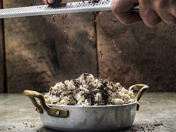 Tryffelpopcorn med parmesan