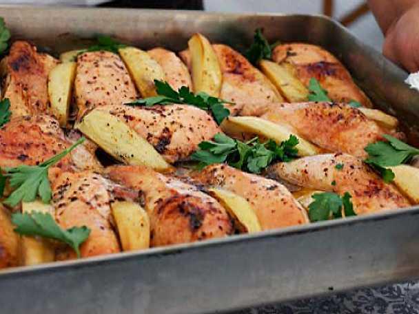 kycklingbröstfile i ugn recept