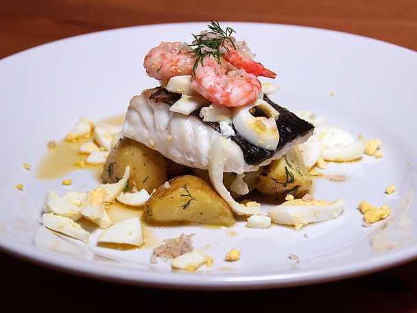 fisk pepparrot recept