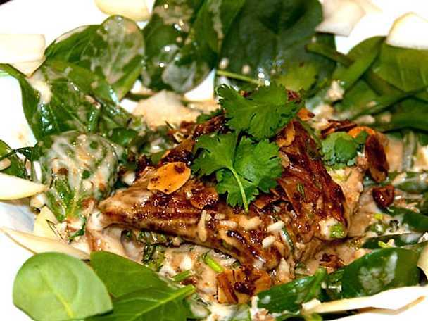 Ugnsgrillad torsk med wasabisås