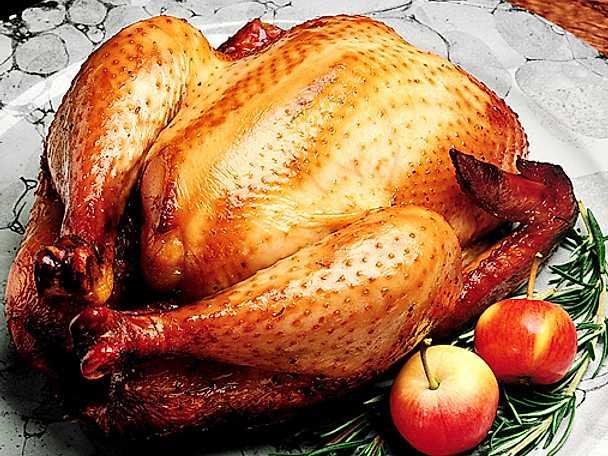 Ugnsstekt kyckling
