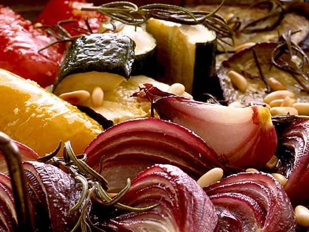 Ugnsstekta grönsaker