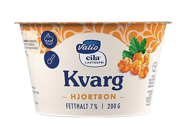 Valio Laktosfri Kvarg Hjortron