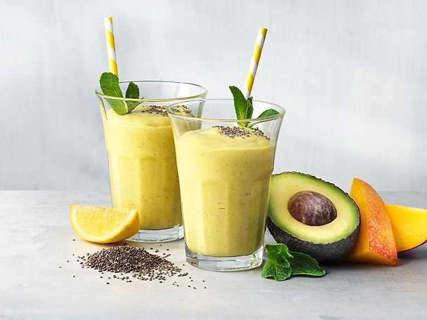 Valio Smoothie med mango och avokado
