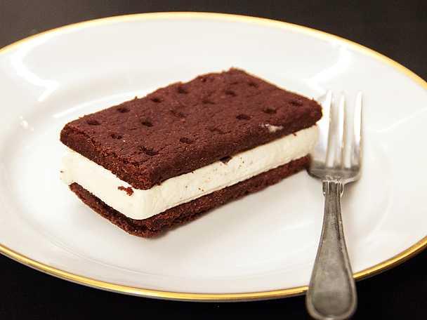 Vanilj fångad i choklad