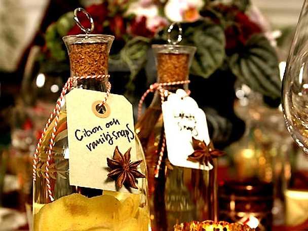 Vanilj- och citronsnaps