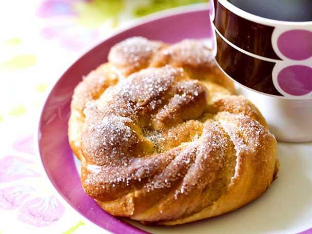 Vanilj- och sockerkringlor