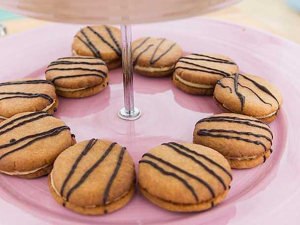 Vaniljkakor med vaniljkräm