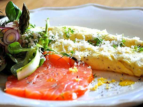 Vårig omelett