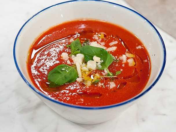 Världens enklaste tomatsoppa