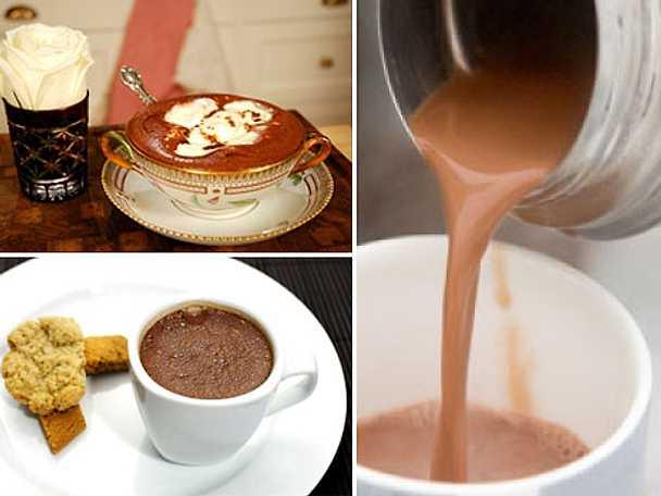 Varm choklad för kyliga dagar