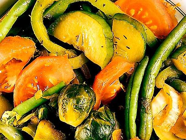 Varm grönsaksgryta