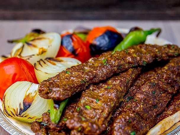 Vegansk kobideh - persisk kebab