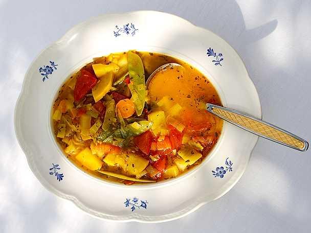 Vegetarisk Bouillabaisse