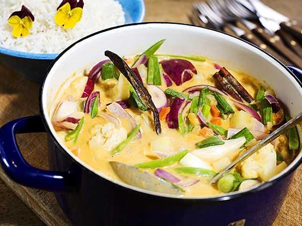 Vegetarisk curry