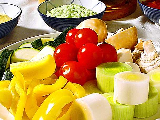 Vegetarisk fondue