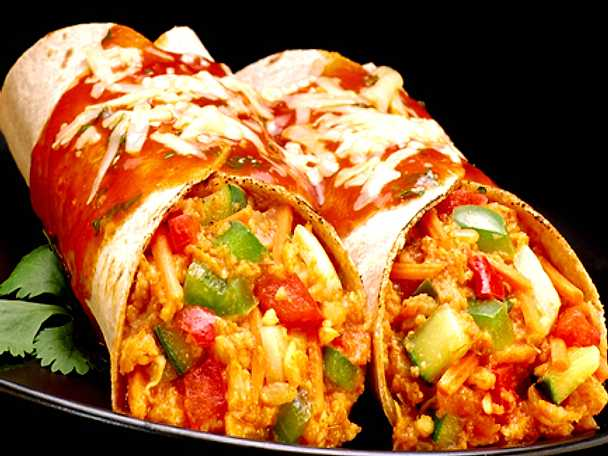 Vegetariska burritos