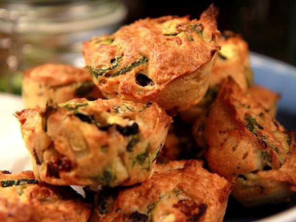 Vegetariska matmuffins