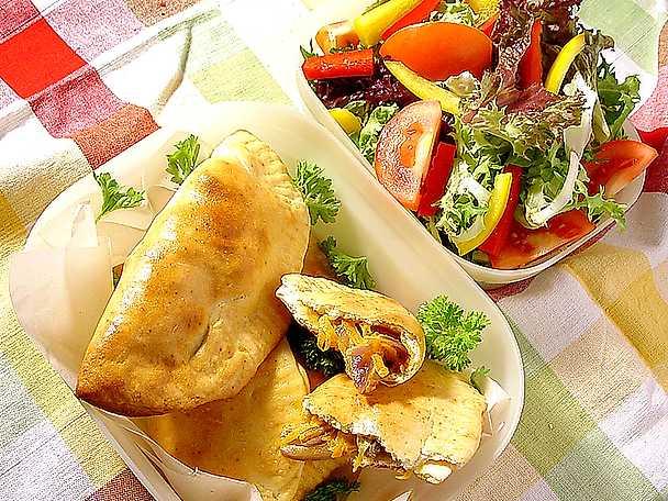 vegetariska piroger vitkål