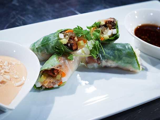 recept vietnamesiska vårrullar