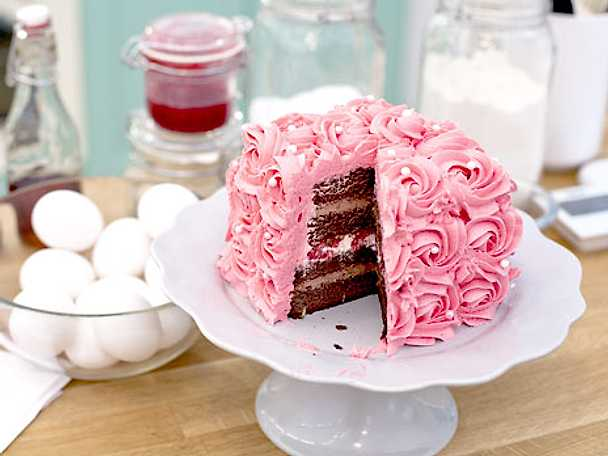 Veronicas magiska chokladtårta