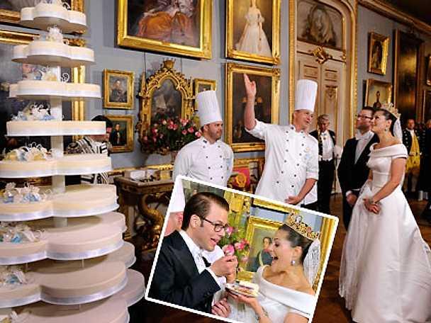 Victoria och Daniels Bröllopsmiddag