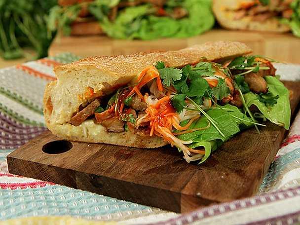 Vietnamesisk food truck-macka