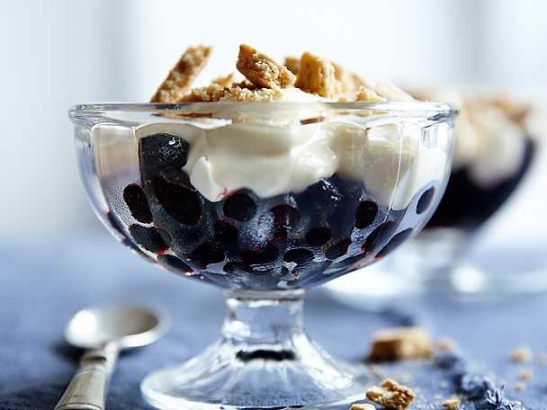 Viktväktarna Blåbärscheesecake i glas