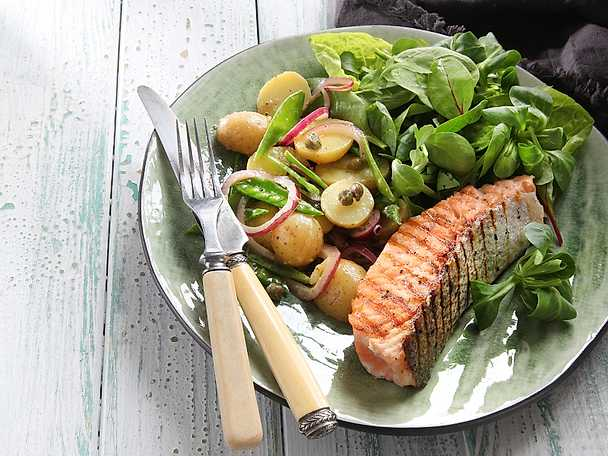 potatissallad till fisk