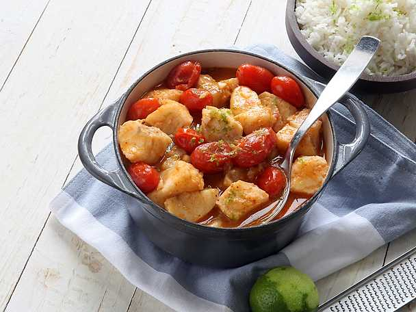 ViktVäktarna Torsk i röd curry