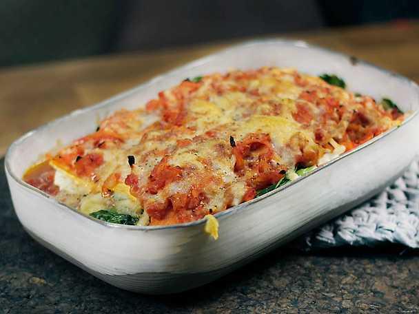 ViktVäktarna Vegetarisk lasagne