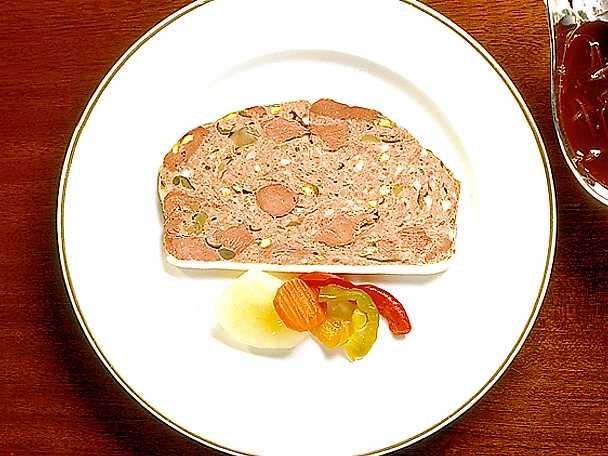 Viltpastej på renkött