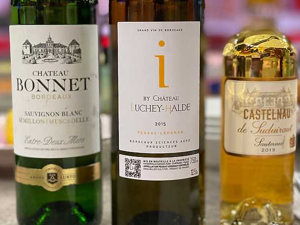 Vintips på vit Bordeaux